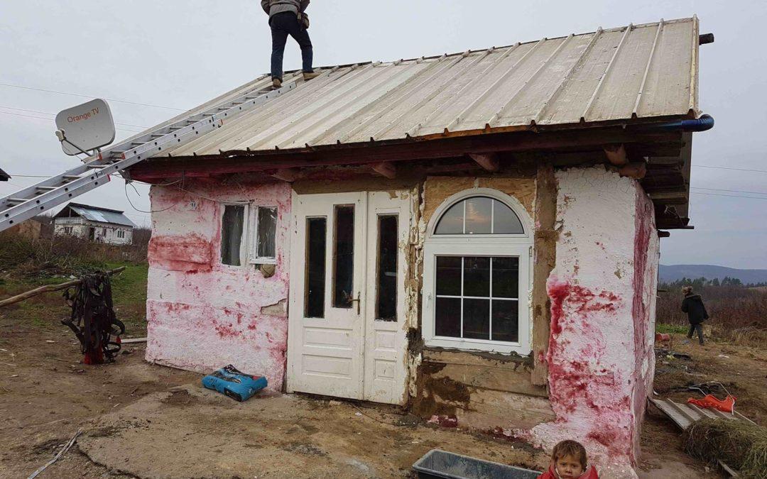 16 houses better prepared for winter in Ponorâta, Maramureș